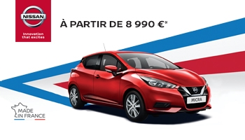 Offre Nissan Micra made in France !