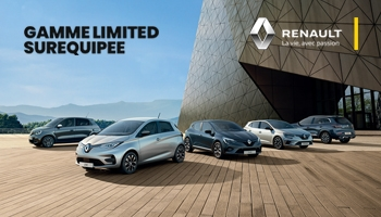 Renault : Offre gamme limited
