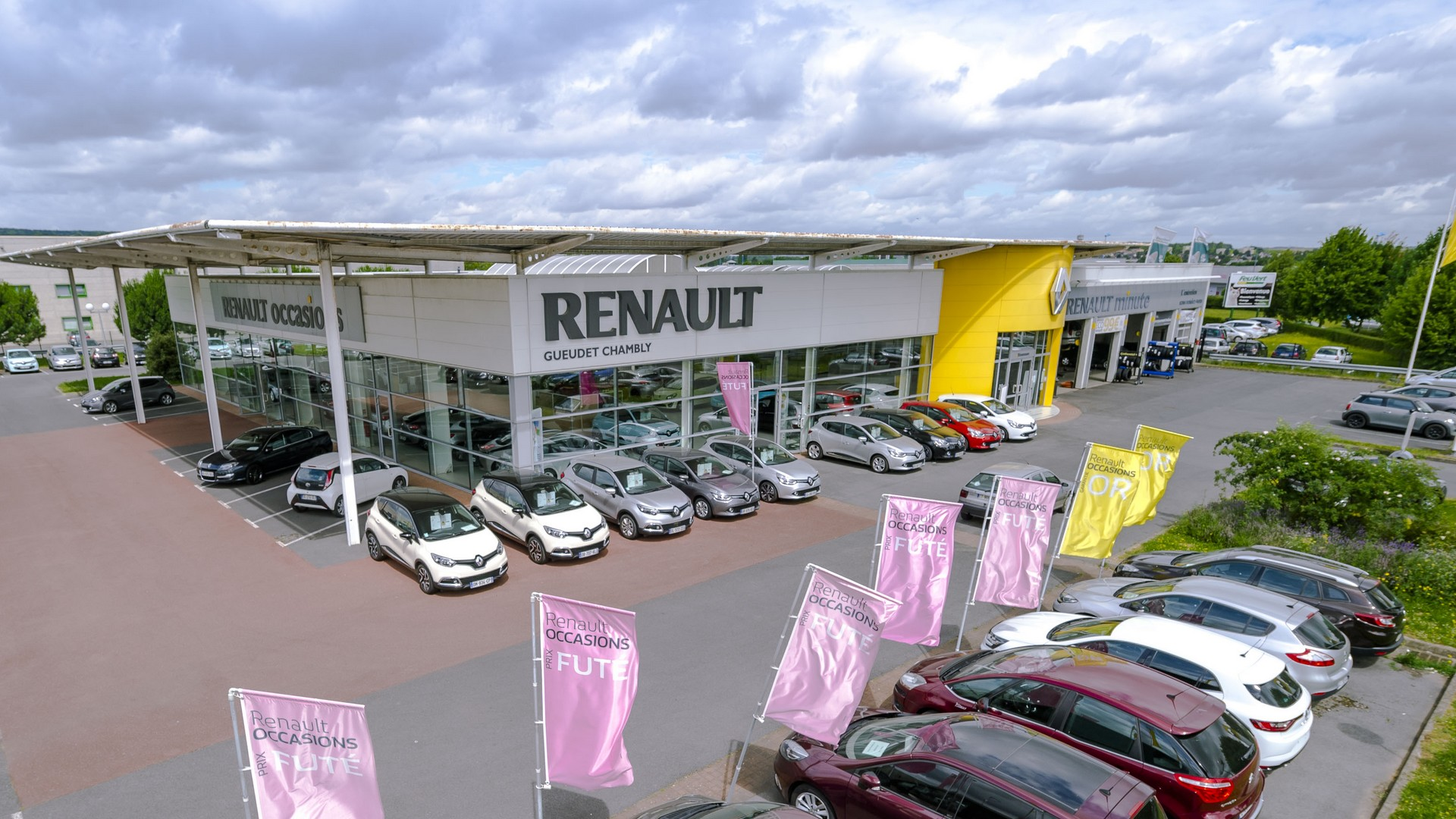 Concession renault chambly vente de voiture neuve for Garage renault gueudet chambly